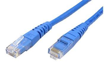ROLINE UTP6-0,3-BU propojovací kabel RJ45/RJ45, U/UTP, 0,3m, kat. 6, PVC, modrý