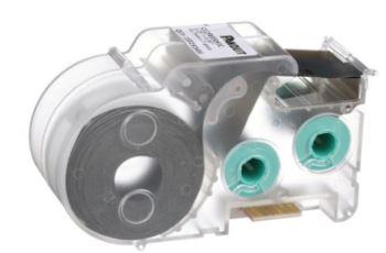 PANDUIT S100X150VAC kabelová popiska, 31,8x25,4mm, průměr 4-8,1mm, vinyl, bílá, kazeta P1, 200 štítků