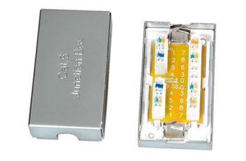 ROLINE 21.17.3065 zářezová spojka pro kabely kat. 6 STP, stříbrná