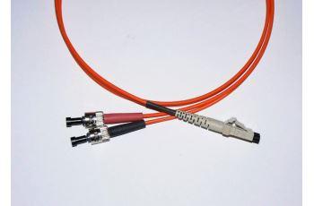 LC-ST-1-M5DL optický propojovací kabel LC-ST duplex MM 50/125um 1m