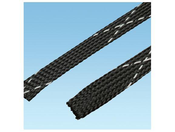 PANDUIT SE25PFR-TR0 oheň zpomalující polyethylenový oplet kabeláže, průměr 3,2 - 9,5mm, bal. 61m