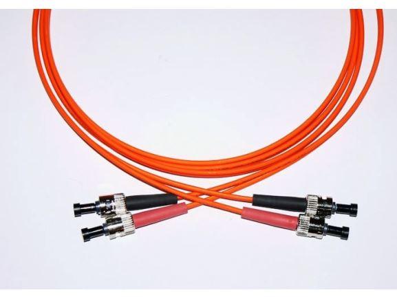 ST-ST-2-M6DL optický propojovací kabel ST-ST duplex MM 62,5/125um 2m