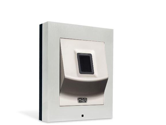 2N 916019 autonomní čtečka otisků prstů Access Unit, bez krycího rámečku, POE