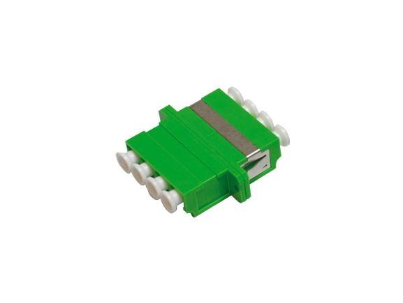 SP-LC-06 optická spojka LC, quad, SM, zelená