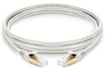 C8-SFTP-1.5M propojovací kabel RJ45/RJ45, S/FTP, kat. 8, 1,5m, PVC, off-white