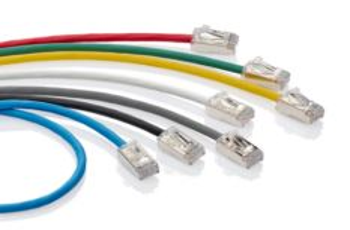 LEVITON 004-H6A10-10L propojovací kabel Extreme HIgh-Flex, tenký, RJ45/RJ45,Cat.6A, U/FTP, AWG28, 3m, modrý