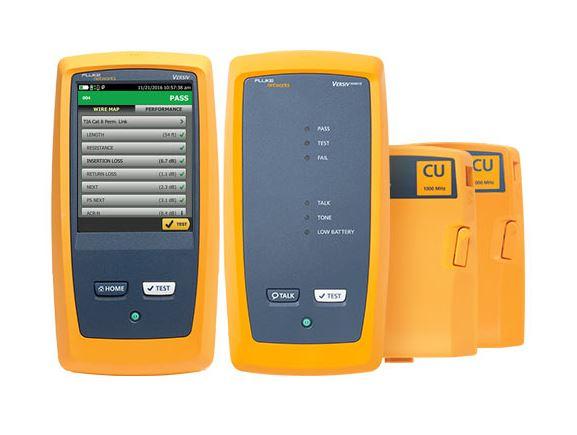 FLUKE DSX2-5000 INTL certifikační kabelový analyzér, 1GHz, kat. 6A, třída FA, WIFI