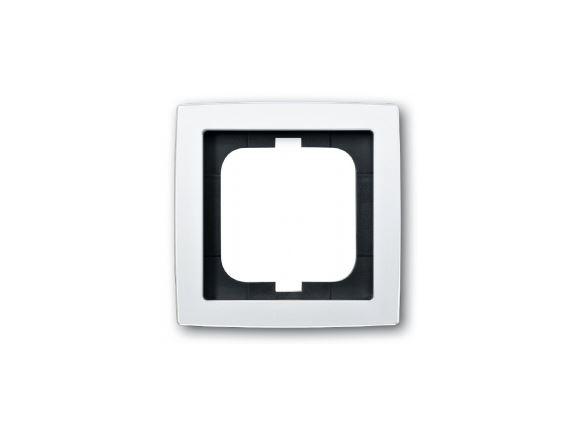 ABB 2CKA001754A4109 rámeček jednonásobný, SOLO, barva studio bílá