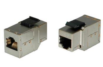 ROLINE 21.17.3004 spojka RJ45/RJ45, 1F-1F, 1:1, STP, kat. 6, typ KEYSTONE