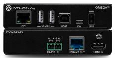 ATLONA LAN-AT-OME-EX-TX vysílač 4K/60Hz 4:2:0, HDMI na HDBaseT, s Ethernetem, USB2,0, řízením, PoE powered device