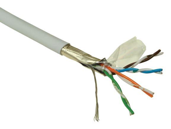 SOLARIX SXKL-5E-FTP-PVC-GY licna F/UTP, kat.5E, PVC, šedá, box 305m