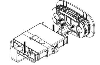PANDUIT OFCD1610BR venkovní spojka i pro instalaci do země, IP68, max 72 svarů, max 3 kazety OFC24SST