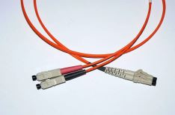 LC-SC-5-M5DL optický propojovací kabel LC-SC duplex MM 50/125um 5m