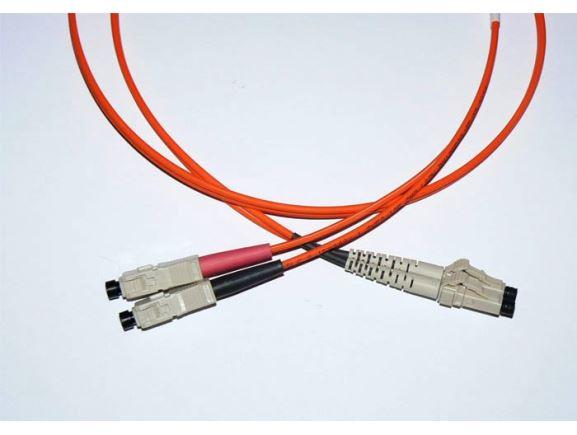 LC-SC-10-M5DL optický propojovací kabel LC-SC duplex MM 50/125um 10m