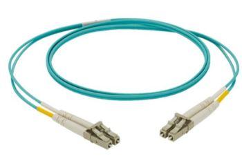 PANDUIT NKFPZ22LLLSM001 optický propojovací kabel NetKey OM4 LC-LC duplex MM 50/125um, 2mm, LSOH,1m