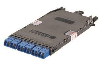 PANDUIT FHC9N-12-10AS kazeta systému HD Flex, 1x MPO - 6x LC duplex, singlemode G652D, polarita A