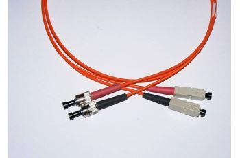 SC-ST-1-M6DL optický propojovací kabel SC-ST duplex MM 62,5/125um 1m