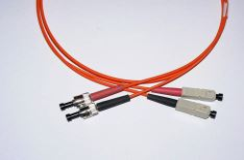 SC-ST-2-M6DL optický propojovací kabel SC-ST duplex MM 62,5/125um 2m