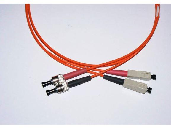 SC-ST-3-M5DL optický propojovací kabel SC-ST duplex MM 50/125um 3m