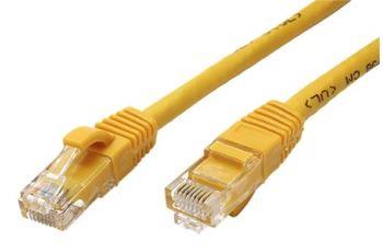 VALUE 21.99.1432 propojovací kabel RJ45/RJ45, UTP, 2m, kat. 6A, PVC, žlutý