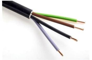 CYKY-J 4x1,5 instalační silový kabel, PVC, balení 100m