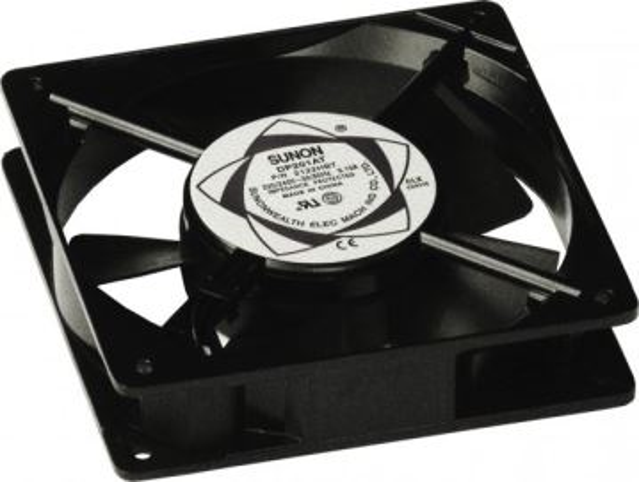 CONTEG DP-VE-01-H náhradní ventilátor s mřížkou, 230V, bez termostatu, černý