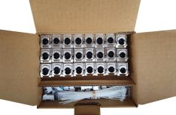 SOLARIX SXKJ-10G-STP-BK-SA-MULTIPACK modul Keystone, RJ45, kat. 6A 10G, STP, samořezný, stříbrný, bal. 24 kusů