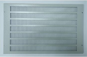 CONTEG DP-VE-ROV-B krycí mřížka větracích otvorů pro rozvaděče s hloubkou 600mm a 800mm, šedá