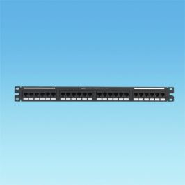 PANDUIT NK6PPG24Y patch panel NetKey UTP 24xRJ45 kat. 6, 1U, 19