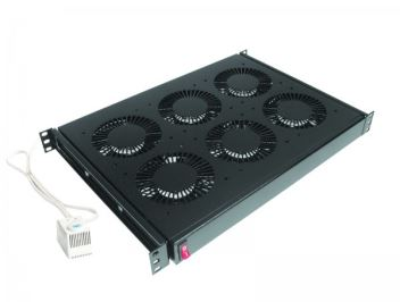 CONTEG DP-VEN-06-H ventilační jednotka, 6x ventilátor, 230V, s termostatem, 19