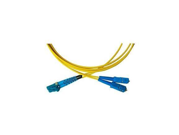 LC/P-SC/P-1-SDL optický propojovací kabel LC/PC-SC/PC duplex SM 9/125um 1m