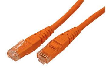 ROLINE UTP6-0,5-OR propojovací kabel RJ45/RJ45, U/UTP, 0,5m, kat. 6, PVC, oranžový