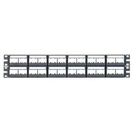PANDUIT CPPL48WBLY patch panel pro 48 modulů MINI-COM, 2U, 19