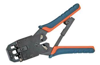 Value 25.99.8790 profi krimpovací kleště pro konektory RJ45, RJ12, RJ11, RJ9 (8P8C, 6P6C, 6P4C, 6P2C, 4P4C)