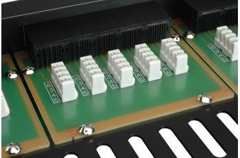 SOLARIX SX25-ISDN-BK voice panel 25xRJ45, kat. 3, UTP, 1U, 19